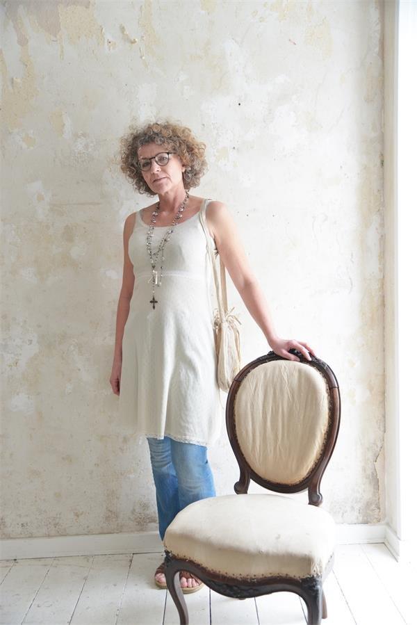 Joyful Moods Cream Cami Dress