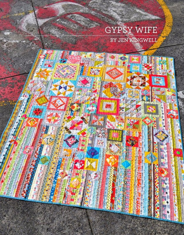 Gypsy Wife Block Of The Month - Monthly Subscriptions (US Residents)