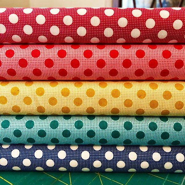 Tilda Basics New Dots Half Yard Bundle
