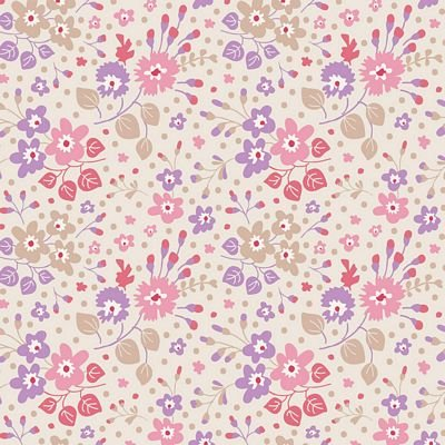 Plum Garden - Flower Confetti in Sand