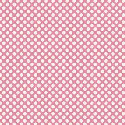 Tilda Basic Classics - Paint Dots in Pink