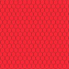 The Coop Red Chicken Wire