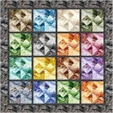 Marble Merger Quilt Kit