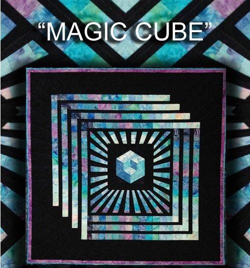 Magic Cube pattern by KwiltArt Designs