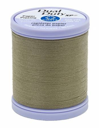 Green Linen Paper Piecing Thread - Dual Duty XP Coats & Clark S942-6180
