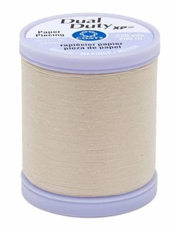 Ecru Paper Piecing Thread - Dual Duty XP Coats & Clark S942-8030