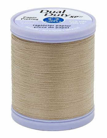 Khaki Paper Piecing Thread - Dual Duty XP Coats & Clark S942-8440