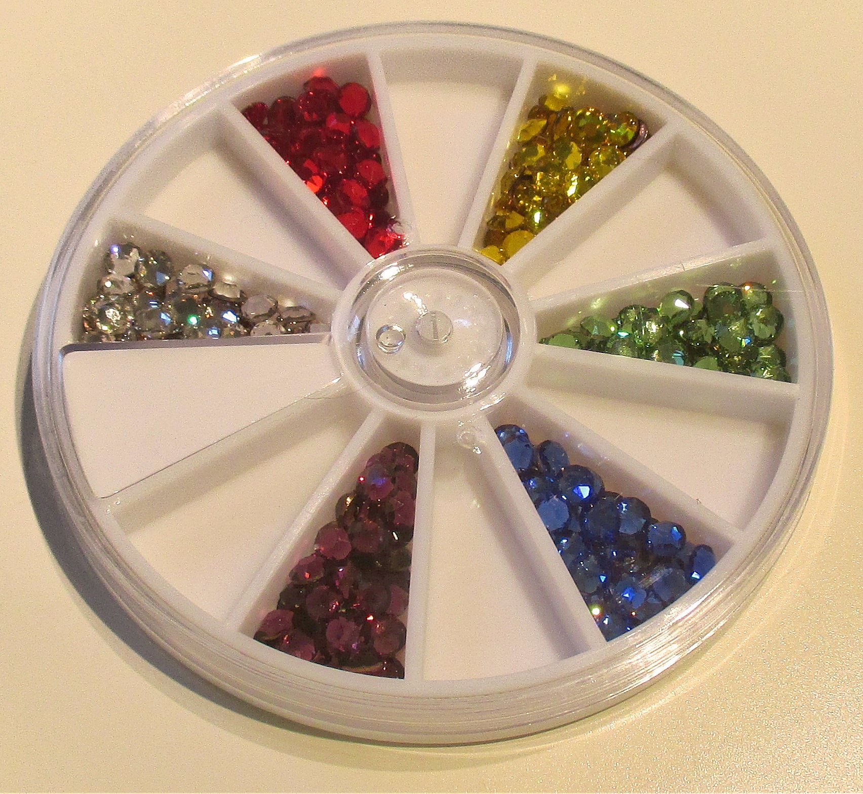 16ss/4mm Primary 6 Color Variety Pack Swarovski Flat Back Hotfix