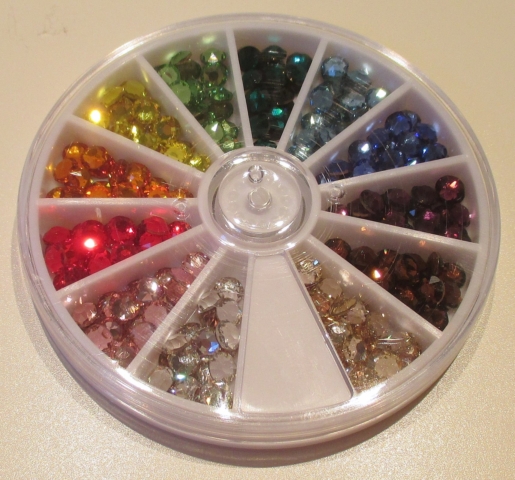 20ss/5mm Primary 12 Color Variety Pack Swarovski Flat Back Hotfix