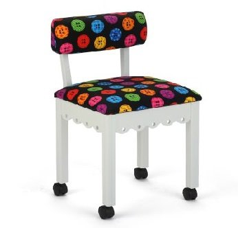 Arrow Bright Button Chair