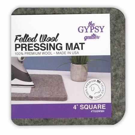 Wool pressing mat 4x4