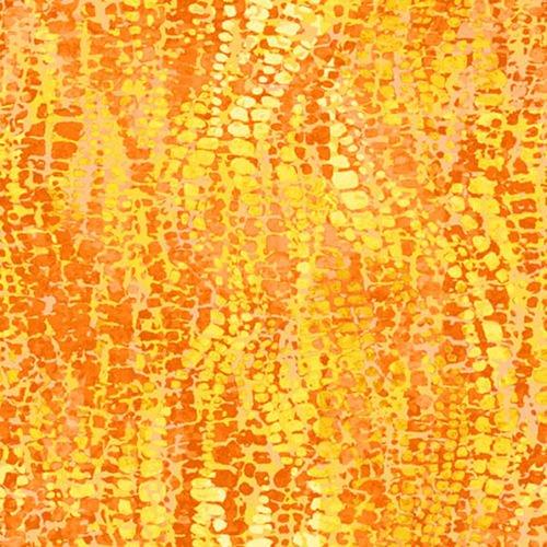 Fabric-Blank Chameleon Texture Yellow