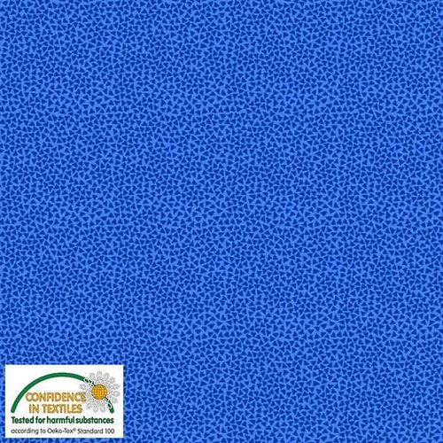 Fabric-Stof Quilter's Combination Bright Blue