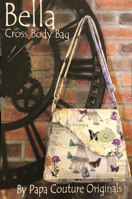 Pattern-Bella Cross Body by Papa Couture