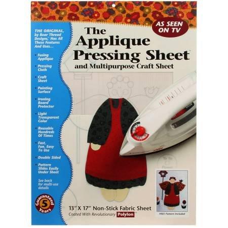 Pressing Sheet-Applique 13 x 17