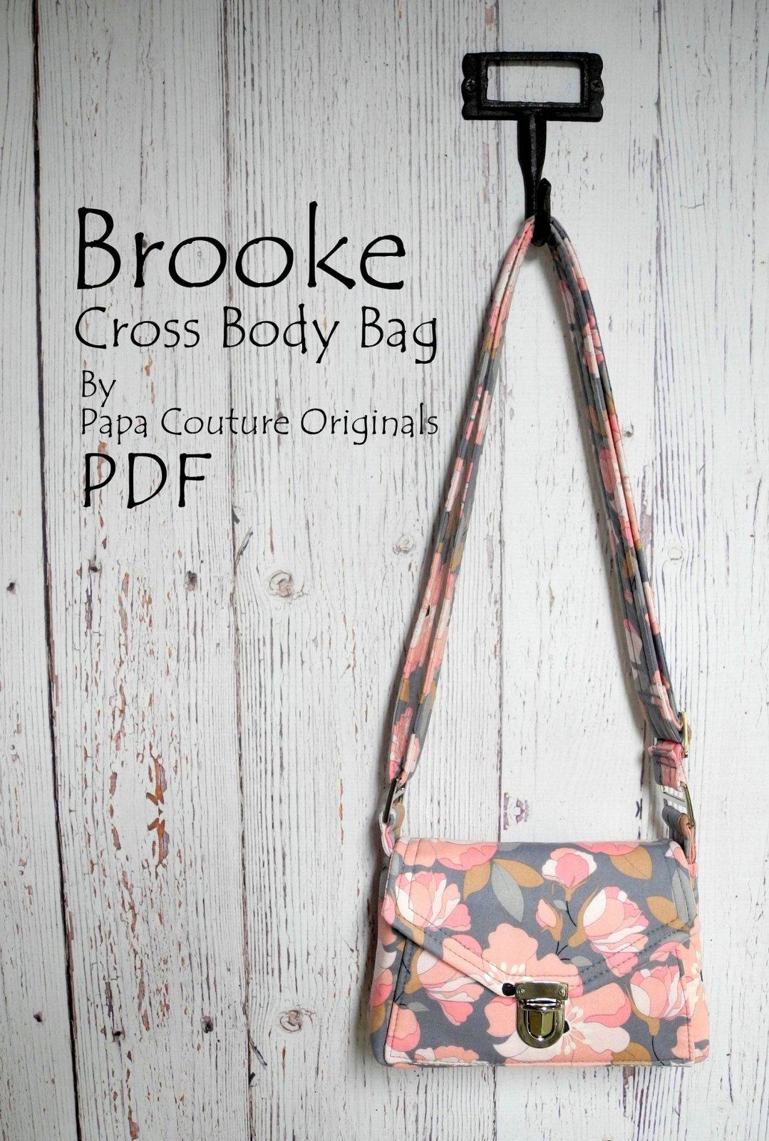 Pattern & Hardware-Brooke Cross Body Bag