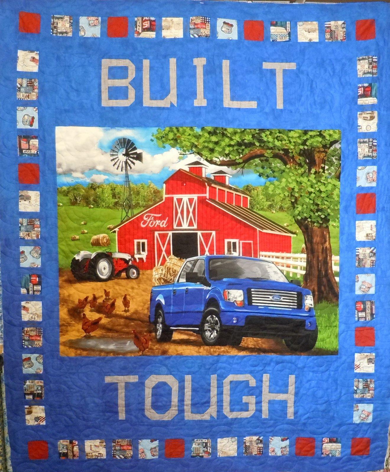 Kit- Built Ford Tough 58-1/2W x 71L