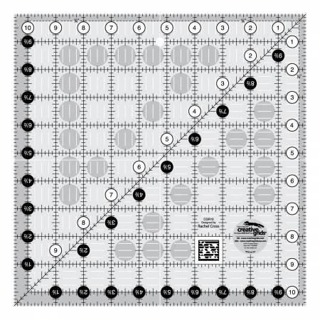 Ruler-CG 10 1/2 Square