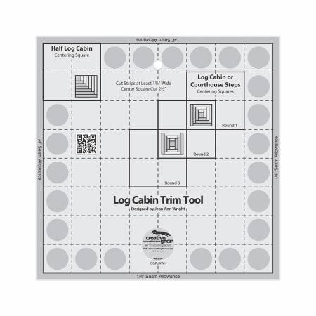 Ruler-CG Log Cabin Trim 8 Sq