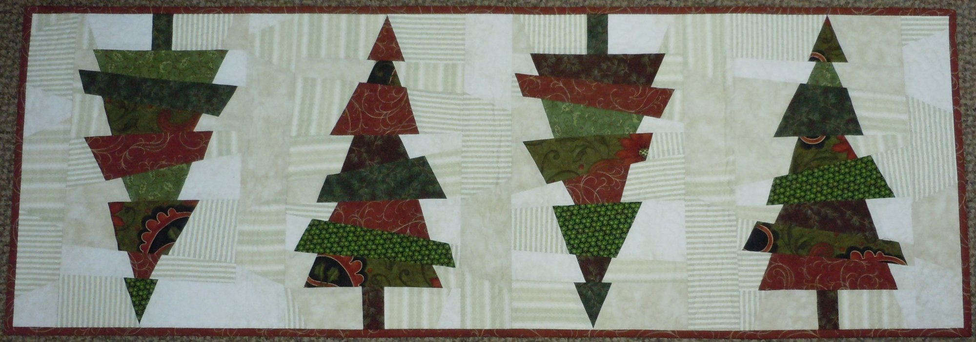 Kit-Crazy Christmas Trees TR 15-1/2W x 45L