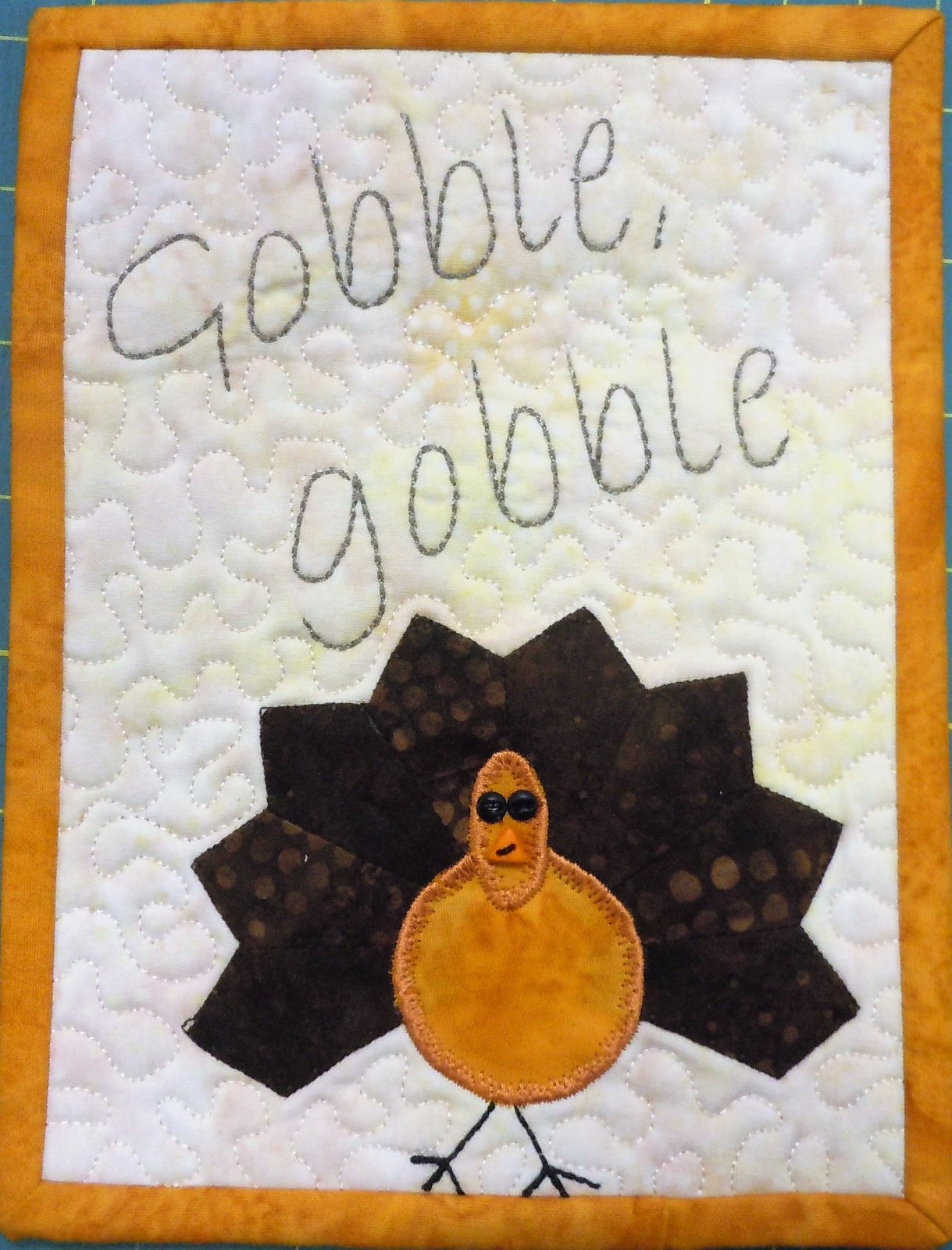 Kit-Tiny Dresden Nov Gobble 6W x 8H