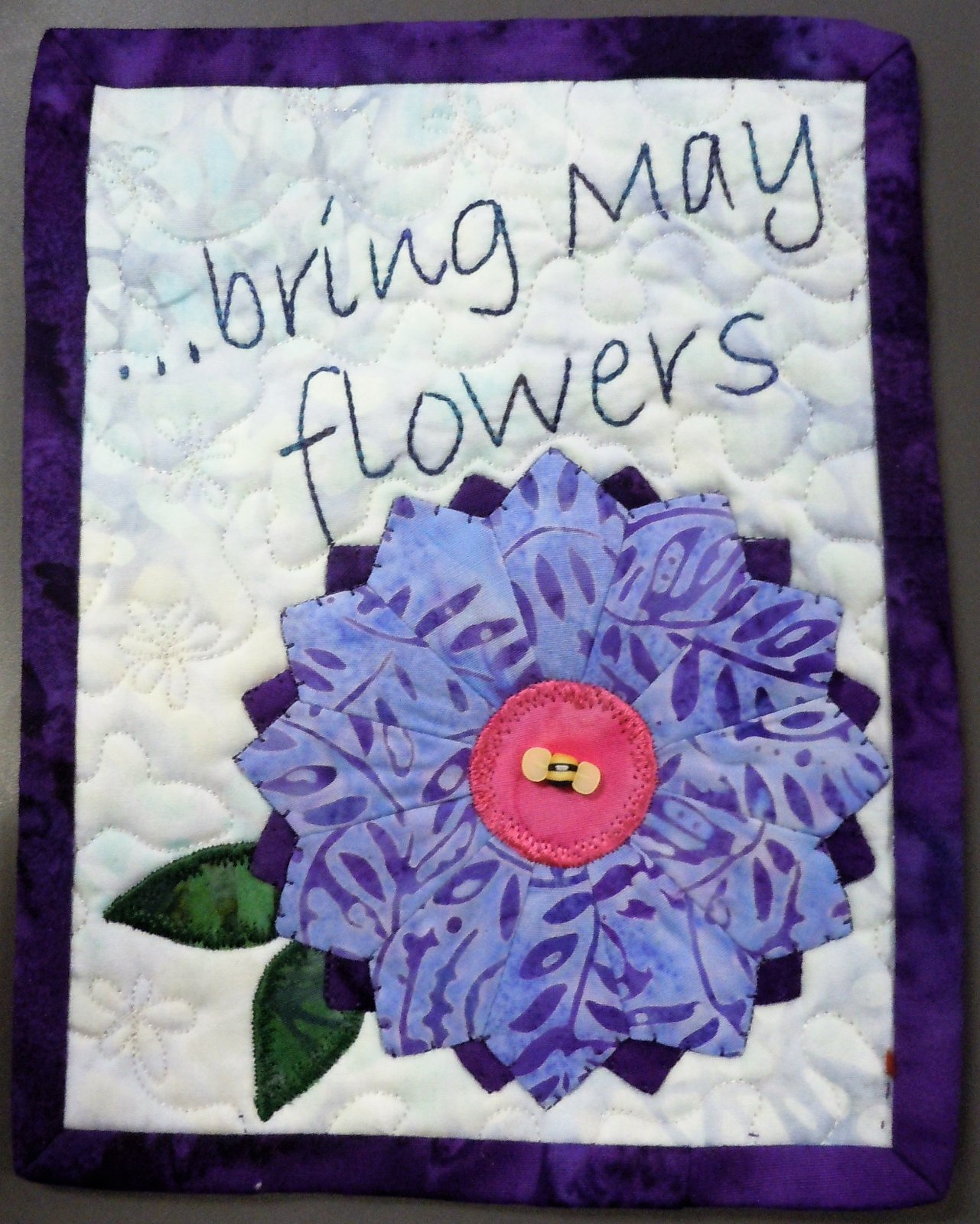 Kit-Tiny Dresden May Brings Flowers 6W x 8H