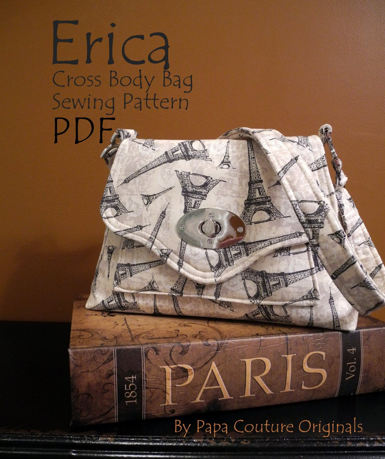 Pattern-Erica Cross Body by Papa Couture