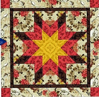 Sample-French Countryside Wall Quilt