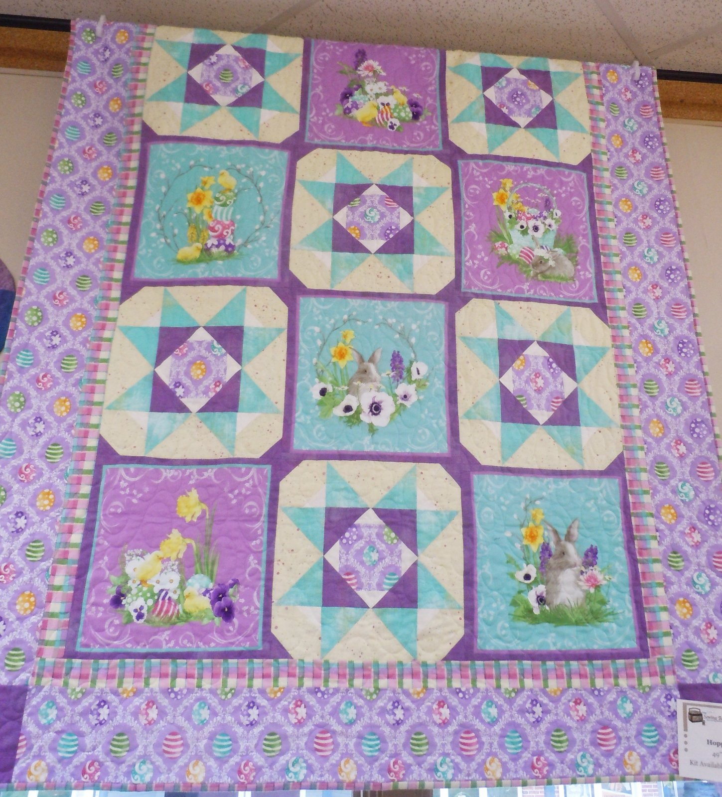 Kit-Hoppy Easter 49W x 61L