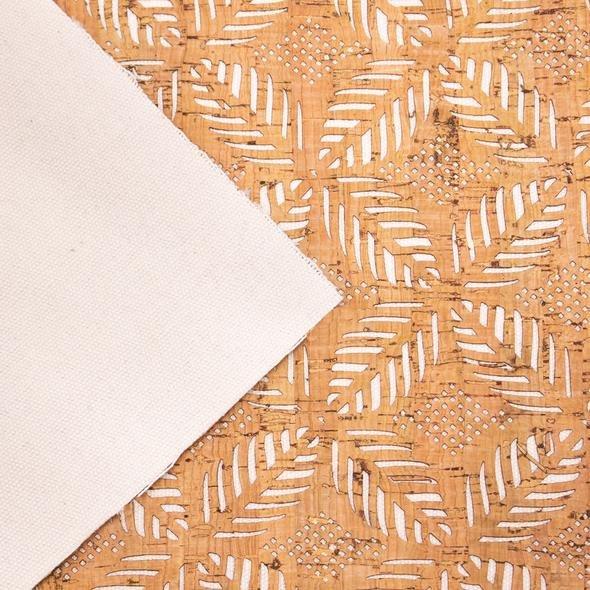 Cork-Portuguese Laser Cut Leaf 416 18 x 26