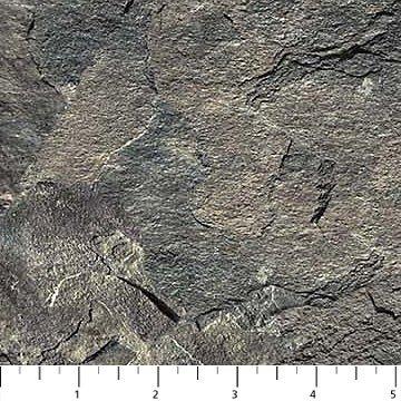 Fabric-Northcott Naturescape Gray Rock