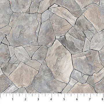Fabric-Northcott Naturescape Lt Stone