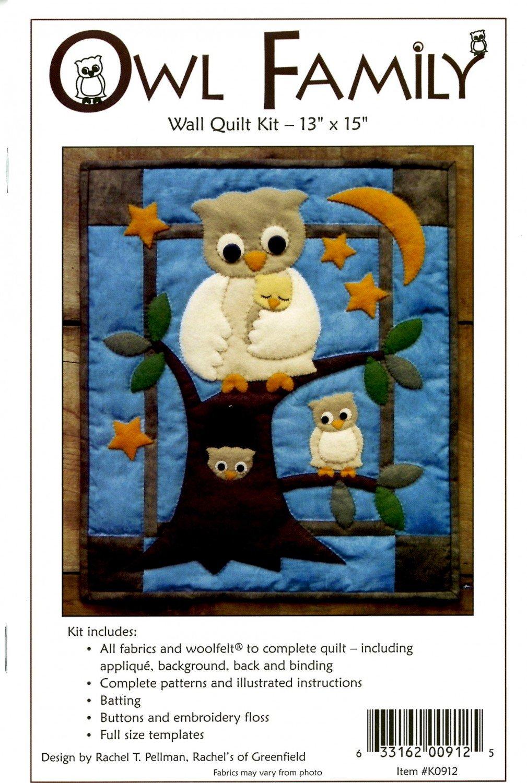 Fabric Kit-Owl Family