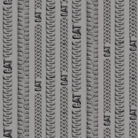 Fabric-Riley Blake CAT Tracks Gray