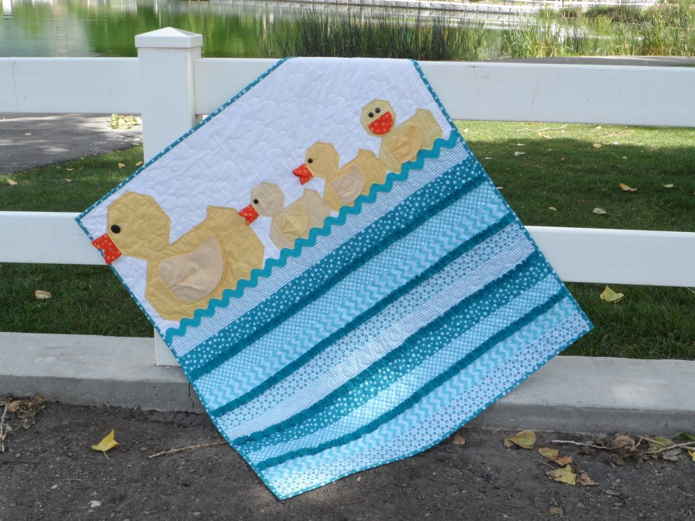 Lucky Ducks Baby Boy Duck Quilt Pattern