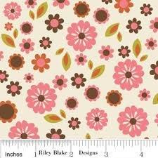 Indian Summer C2611 Cream Cotton Fabric