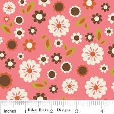 Indian Summer C2611 Pink Cotton Fabric