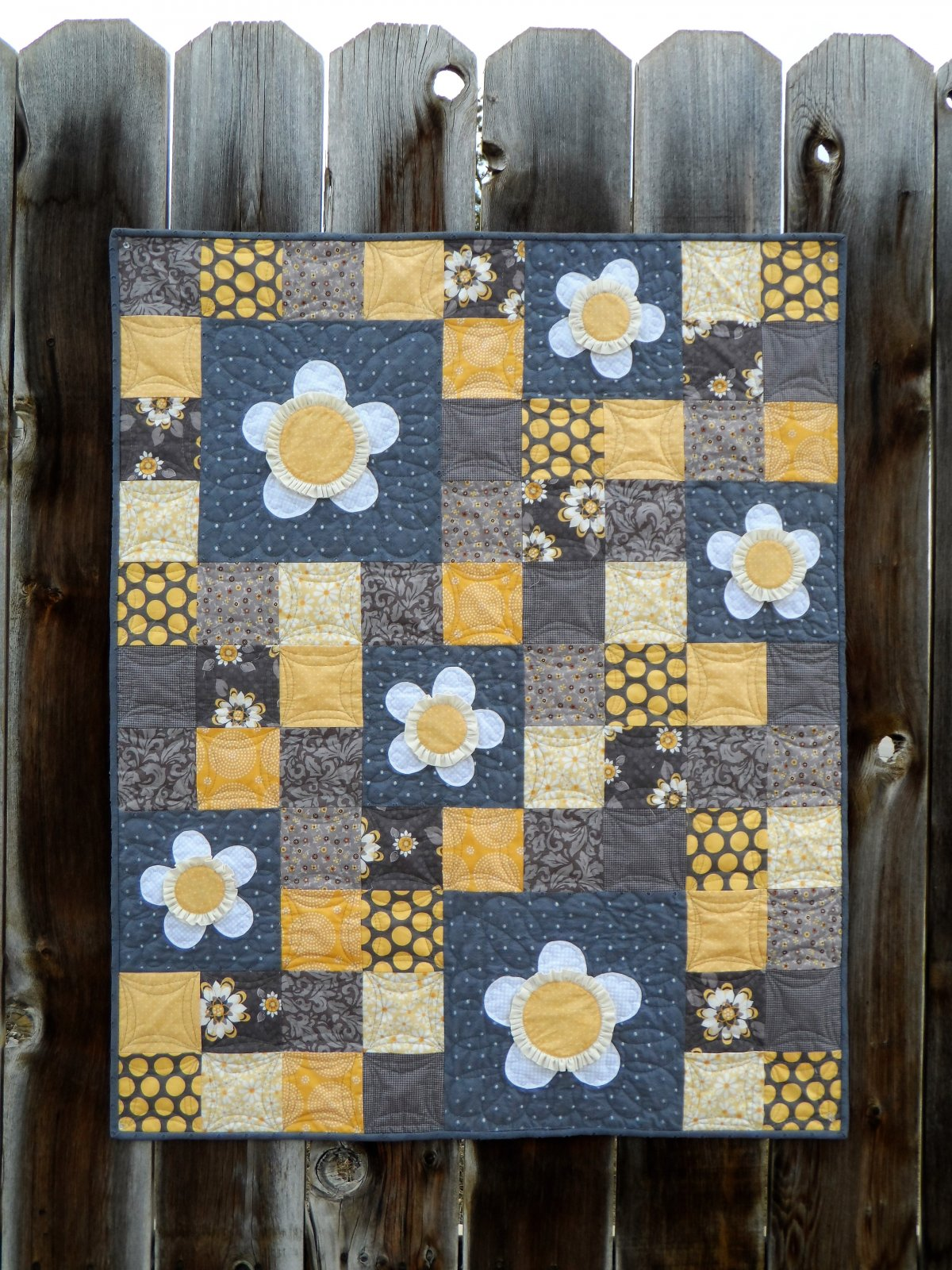 April Showers Baby Quilt Pattern