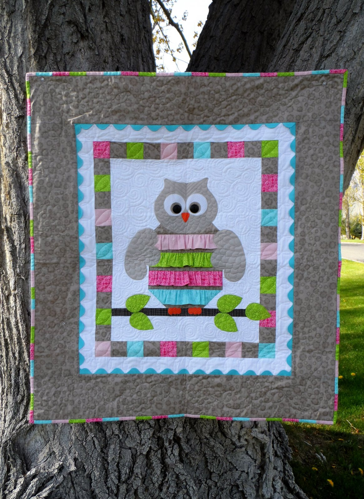 Night Owl Baby Quilt Pattern