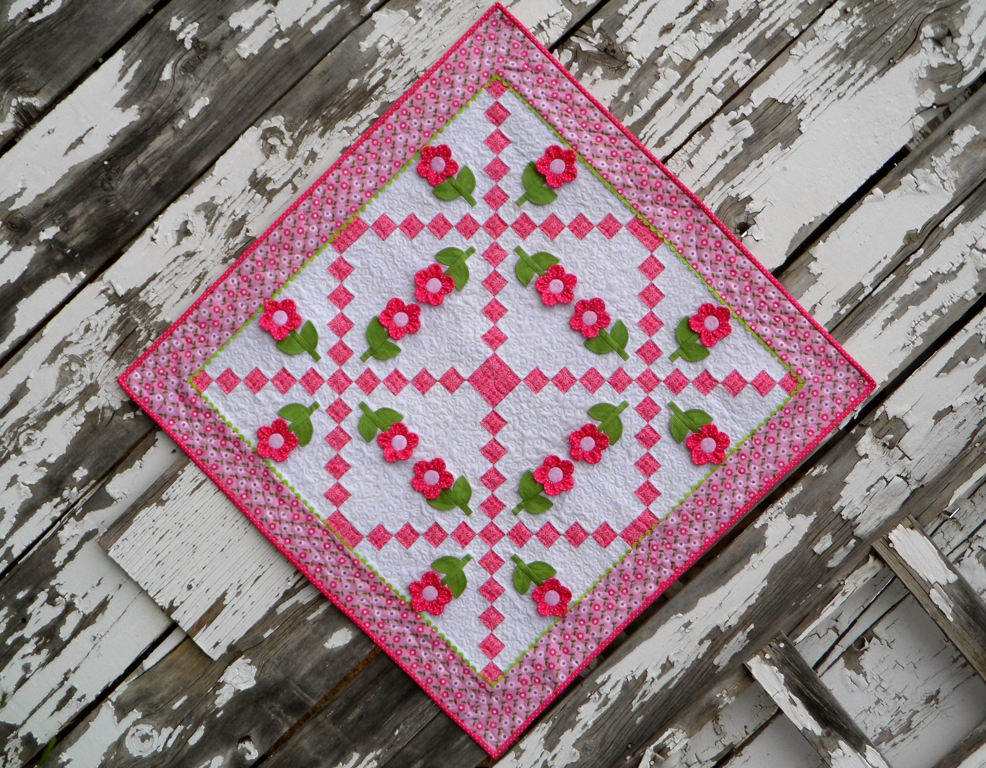 Center of Attention Quilt Pattern