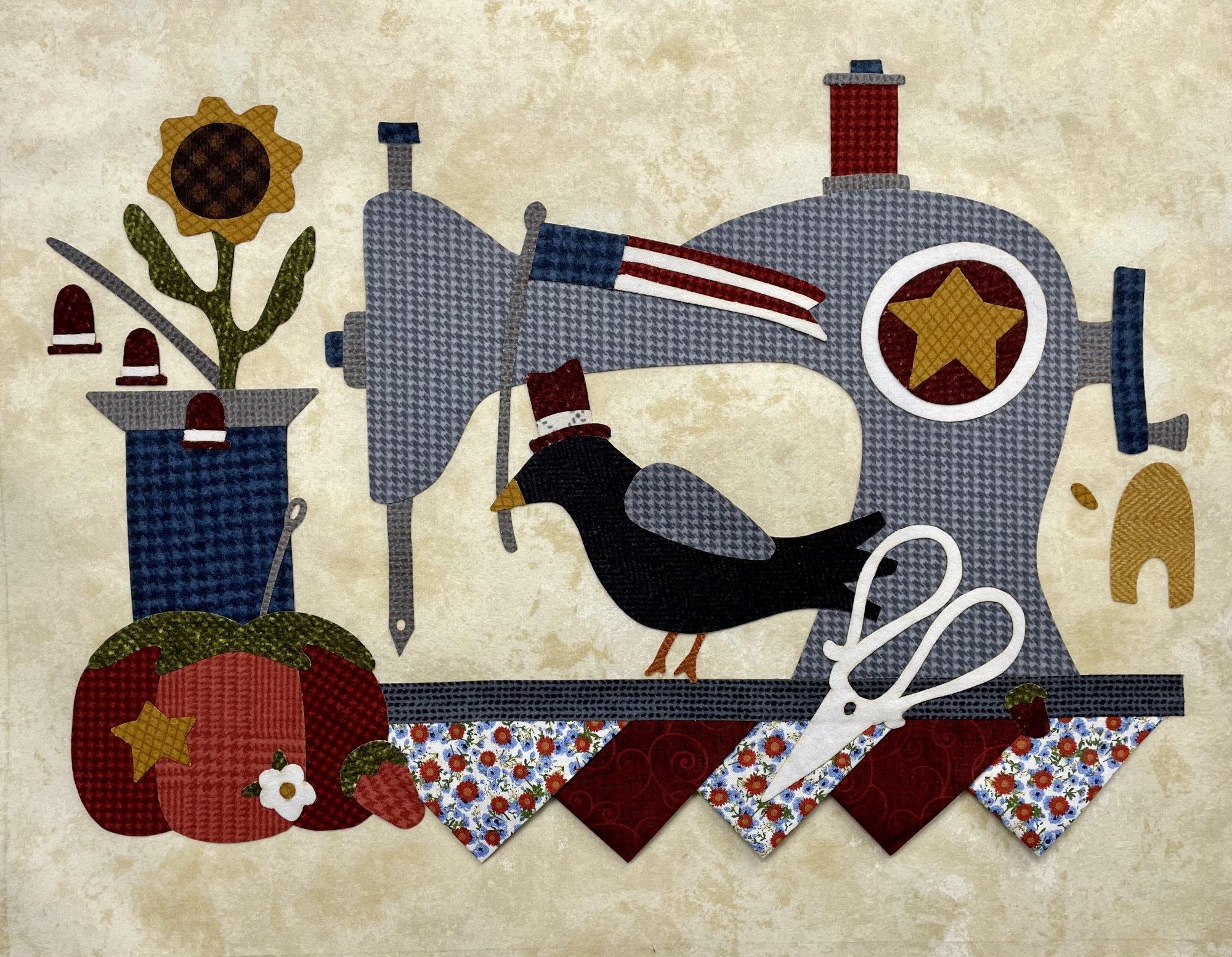 Summer Vintage Sewing Machine Kit