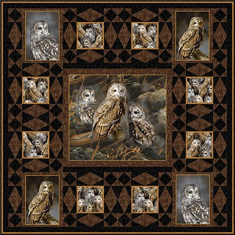 Barred Owls Kit