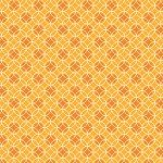 Bree Dot Circle Orange 2134-22