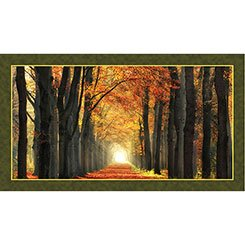 Artworks- In Love With Fall Again Panel - Multi 1649-24634-X
