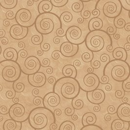 Harmony Cotton- Curly Scroll Camel
