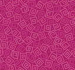 Harmony Cotton- Squares Azalea