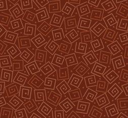 Harmony Cotton- Squares Rust