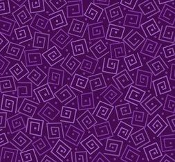 Harmony Cotton- Squares Grape