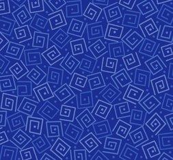 Harmony Cotton- Squares Royal