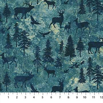 Mountain Wilderness 39381-46 Dk. Blue